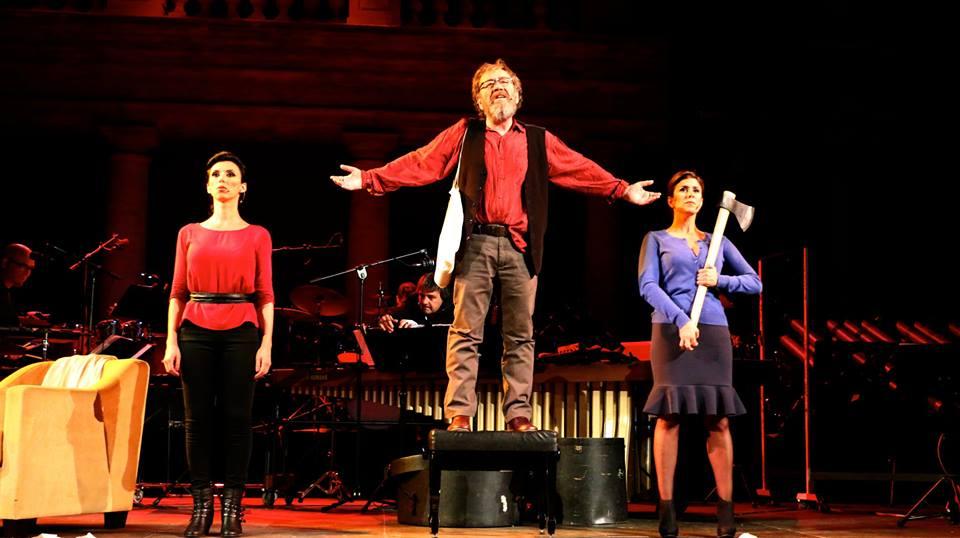 EL MAL VINO, opereta para percusión y voces